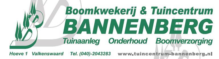 Boomkwekerij & Tuincentrum Bannenberg