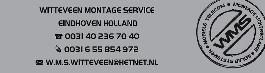 Witteveen Montage Service